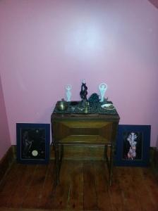 Creative altar